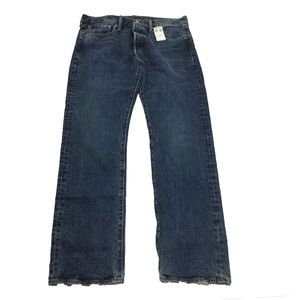 NWT Levi's 501 Original Fit Straight Leg Jeans